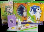 Набор Бумажный бум для творчества ZiBi с бумагой и картоном в пластиковой папке (ZB.9972) - изображение 1