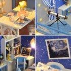 Румбокс 3D-конструктор DIY House дом для самостоятельной сборки Dream of starry sky (30113) - изображение 2
