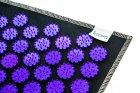 Коврик массажный Igora с аппликатором Кузнецова Air Mini 32 х 21 см Фиолетовые фишки (FS-100) - изображение 2