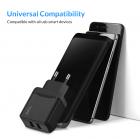 Сетевое зарядное устройство для телефона, смартфона Topk Quick Charge 3.0 |2USB, 18W, 3A| Черный - изображение 4