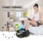 Масажер Антистрес для ніг терапевтичний Jinkairui Z9 3 режими Компресія Підігрів Вібрація - зображення 5