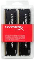 Оперативная память HyperX DDR4-2666 32768MB PC4-21300 (Kit of 4x8192) Fury Black (HX426C16FB3K4/32) - изображение 4