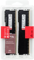 Оперативная память HyperX DDR4-2666 32768MB PC4-21300 (Kit of 2x16384) Fury Black (HX426C16FB3K2/32) - изображение 5