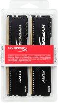 Оперативна пам'ять HyperX DDR4-2400 16384MB PC4-19200 (Kit of 2x8192) Fury Black (HX424C15FB3K2/16) - зображення 4