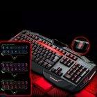 Провідна ігрова клавіатура з 3-я підсвічуваннями і мишкою Atlanfa AT-V100P Комплект Original (100P) - зображення 3