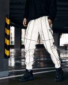 Спортивные штаны Пушка Огонь Bard рефлективные с кантом L - изображение 2