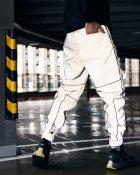 Спортивные штаны Пушка Огонь Bard рефлективные с кантом L - изображение 4