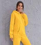 Худі жіноче утеплене Tint yellow Berni Fashion (L) Жовтий (57090) - изображение 1