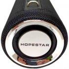 Портативна bluetooth колонка Hopestar H39 з вологозахистом Чорна - зображення 3