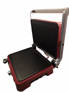 Гриль DSP KB1049A прижимной электрический для барбекю, шашлыка и овощей 1800 Вт Красный (11902) - изображение 2