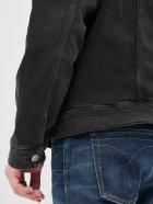 Джинсова куртка Calvin Klein Jeans Foundation Jacket J30J317247-1BY L Denim Black (8719853601426) - зображення 6