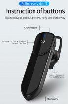 Гарнитура Bluetooth Kebidu V19 Black - изображение 3