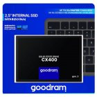 """Накопичувач SSD Sata 2.5"""" 128Gb Goodram CX400 (SSDPR-CX400-128-G2) - зображення 3"""