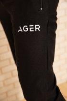 Спортивні штани чоловічі з кишенями колір Чорний, розмір XL FG_03404 - зображення 5