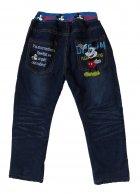 Теплые джинсы Mickey Mouse Hot Pet для мальчика 110 см Синие 5565 - изображение 2