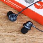 Проводные вакуумные стерео наушники Type-C (1.2м) гарнитура с влагозащитой IPx4 с микрофоном для телефонов смарфонов Plextone Stereo Bass (X56M) Navy - изображение 2