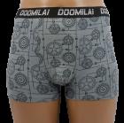 Трусы боксеры Doomilai 01236 3XL серые - изображение 1
