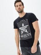 Мужская футболка Airboss Spase expedition L Black (2000000001388_A) - изображение 1