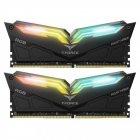 Модуль пам'яті Team DDR4 16Gb (2x8) T-Force Night Hawk RGB Black 3200 MHz (TF1D416G3200HC16CDC01) - зображення 1