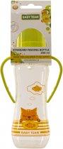 Бутылочка для кормления Baby Team с силиконовой соской и ручками 0+ 250 мл Салатовая (1411_салатова) - изображение 2