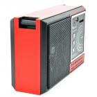 Радіоприймач всехвильовий портативний мережний і акумуляторний з телескопічною антеною Цифрове міні радіо GOLON RX-002UAR з USB mp3, WMA бездротовий FM/AM - зображення 5