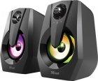 Акустическая система Trust Ziva RGB Illuminated 2.0 Gaming Speaker Set (24071) - изображение 3