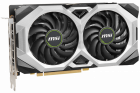 MSI PCI-Ex GeForce RTX 2060 Ventus GP OC 6GB GDDR6 (192bit) (1710/14000) (HDMI, 3 x DisplayPort) (RTX 2060 VENTUS GP OC) - зображення 2