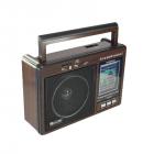 Цифровое мини радио GOLON RX-9966UAR Радиоприемник всеволновой портативный с телескопической антенной с USB mp3, WMA беспроводной FM/AM сетевой и аккумуляторный - изображение 4