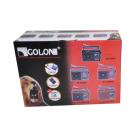 Цифровое мини радио GOLON RX-9966UAR Радиоприемник всеволновой портативный с телескопической антенной с USB mp3, WMA беспроводной FM/AM сетевой и аккумуляторный - изображение 7
