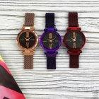 Часы наручные Geneva Starry Sky Purple-Black Shine - изображение 4