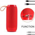 Bluetooth-колонка TG106, Мощностью 10W, Аккумулятор 1200mAh Red - изображение 3