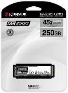 Kingston KC2500 250GB NVMe M.2 2280 PCIe 3.0 x4 3D NAND TLC (SKC2500M8/250G) - изображение 3