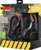 Ігрові навушники Canyon Nightfall Black/Orange (CND-SGHS7) - зображення 4