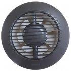 Вытяжной вентилятор Europlast E-EXTRA EA125A с шариковым подшипником антрацит - изображение 1