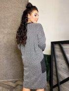 Платье DNKA р15262 50-52 Серое (2000000582191_ELF) - изображение 2
