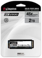 Kingston KC2500 2TB NVMe M.2 2280 PCIe 3.0 x4 3D NAND TLC (SKC2500M8/2000G) - изображение 3