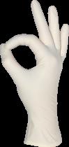 Перчатки Латексные Неопудренные MEDIOK Белые S (100 шт) - изображение 2
