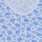 Майка Модный карапуз 306-00008 86 см Белая с голубым (4821933660804) - изображение 3