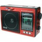 Радіоприймач RX-006UAR Golon Plus USB FM Red (45769-IM) - зображення 1