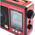 Радіоприймач RX-006UAR Golon Plus USB FM Red (45769-IM) - зображення 3