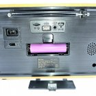 Радіо акумуляторне з Bluetooth і пультом управління Kemai Retro Brown - зображення 9