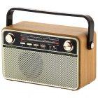 Радіо акумуляторне з Bluetooth і пультом управління Kemai Retro Gold MD-505-BT - зображення 2