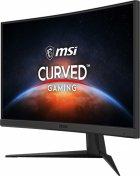 """Монітор MSI 23.6"""" Optix G24C6 VA Black Curved; 1920x1080 (144 Гц), 250 кд/м2, 1 мс, DisplayPort, 2хHDMI - зображення 3"""