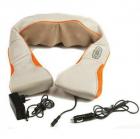 Роликовый массажер для спины и шеи Massager of Neck Kneading четыре массажных ролика,Адаптер для автомобиля; Адаптер для сети, ИК прогрев - изображение 3