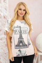 Футболка Париж персик 56-58 - изображение 1