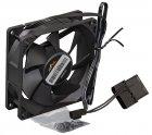 Вентилятор Frime (FF8025BB20) 80х80х25мм, Black, 3pin+Molex - зображення 1