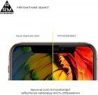 Захисне скло Armorstandart Full Glue Curved для Samsung Galaxy S21 Ultra Black (ARM57616) - зображення 4