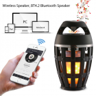 Портативная колонка Flame Atmosphere Lamp Wireless Speaker i3C V3.5 - изображение 4