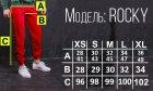 Спортивные штаны с белой полоской (лампасом) Тур Рокки (Rocky) Черный M - изображение 3