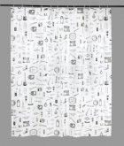 Шторка для душу SENSEA BARBER 180*200 см сіра 11690805 - изображение 1